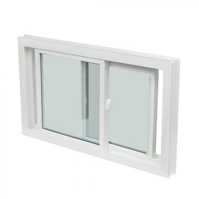 DOUBLT LIFT OUT - Double tilt slider lift out windows include two operable window sash. This window moves side to side and the sashes lift out for easy cleaning.