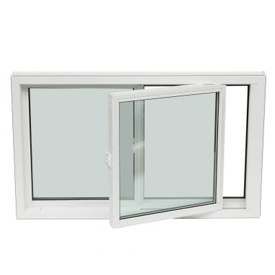 SINGLE TILT - As with single hung, single tilt slider windows include one stationary and one operable window sash. This window moves side to side and tilts inward for easy cleaning.